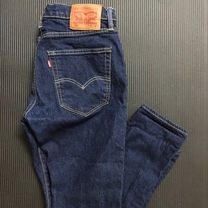 Levi 512 Fit Skinny Jeans